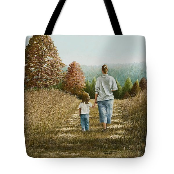 Going Home Tote Bag by Mary Ann King