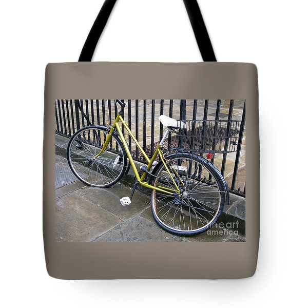 Going Nowhere Tote Bag by Ann Horn