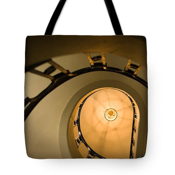 Going Up Tote Bag by Sebastian Musial
