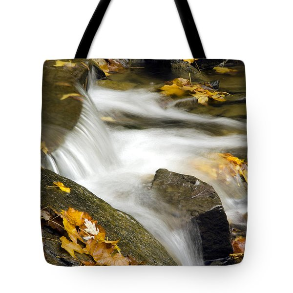 Going With The Flow Tote Bag by Christina Rollo