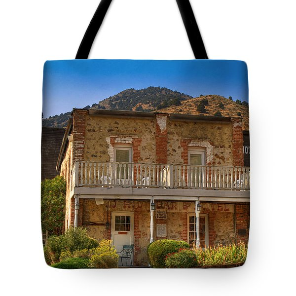Gold Hill Hotel And Saloon Tote Bag by Donna Kennedy