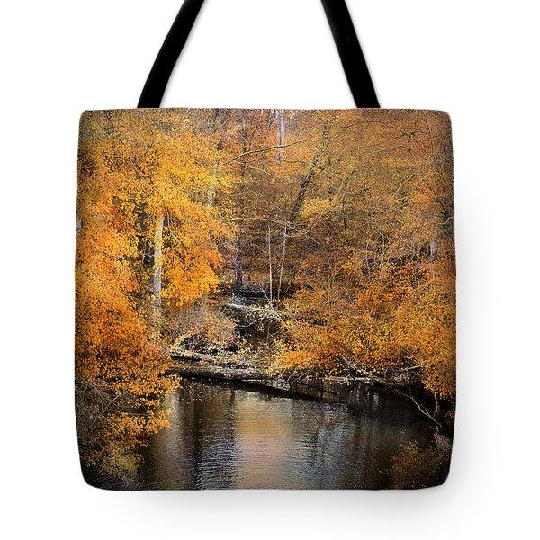 Golden Blessings Tote Bag by Jai Johnson