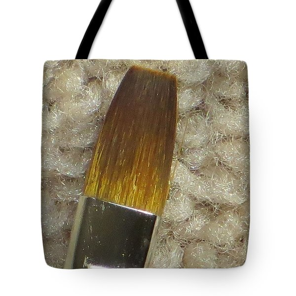 Golden Brush Tote Bag by Sonali Gangane