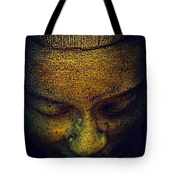 Golden Buddha Tote Bag by Susanne Van Hulst