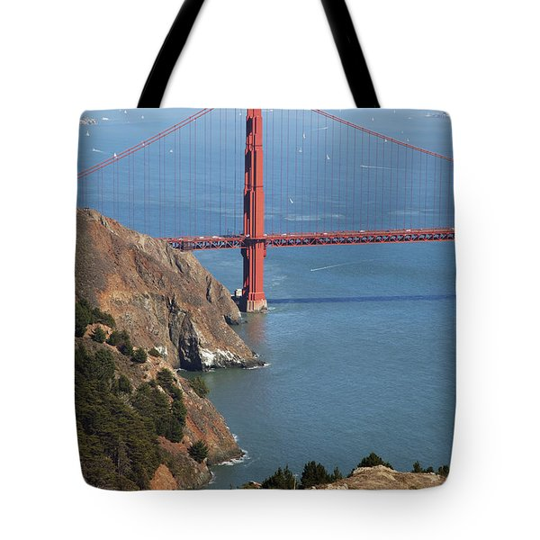 Golden Gate Bridge II Tote Bag by Jenna Szerlag