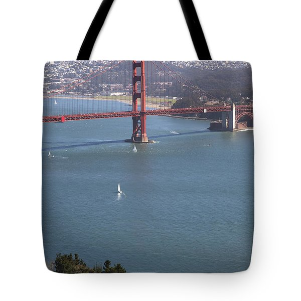 Golden Gate Bridge Tote Bag by Jenna Szerlag