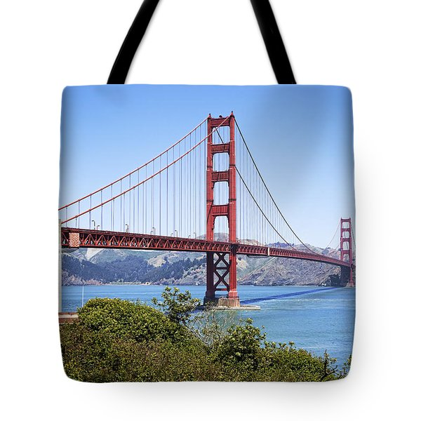 Golden Gate Bridge Tote Bag by Kelley King