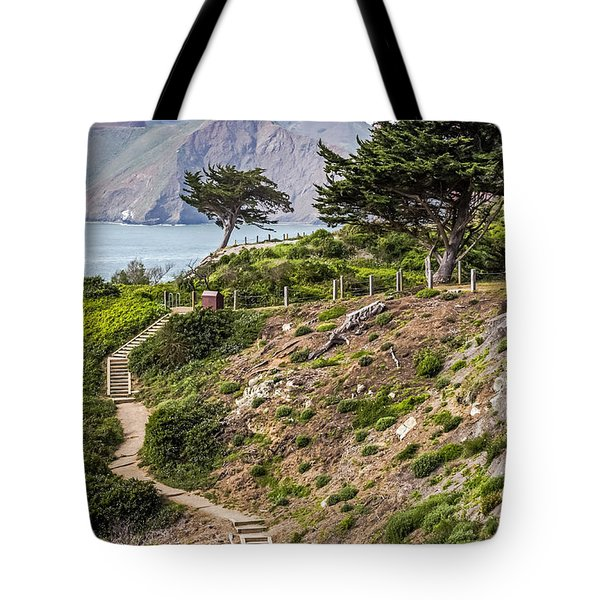 Golden Gate Trail Tote Bag by Kate Brown