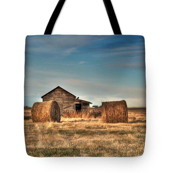 Golden Hay Tote Bag by Lisa Knechtel