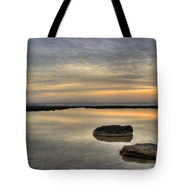 golden horizon Tote Bag by Stylianos Kleanthous