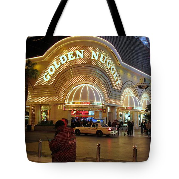 Golden Nugget Tote Bag by Kay Novy