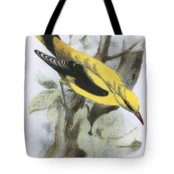 Golden Oriole Tote Bag by English School