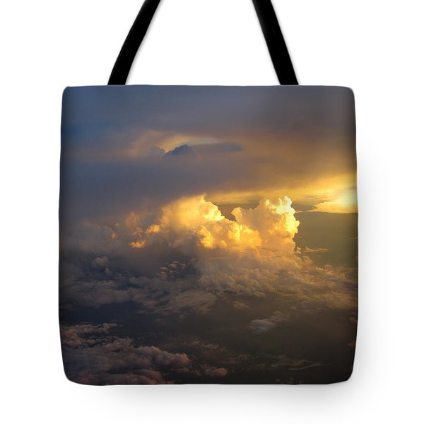 Golden Rays Tote Bag by Ausra Paulauskaite