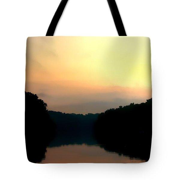 Golden Sunrise Tote Bag by Debra Forand