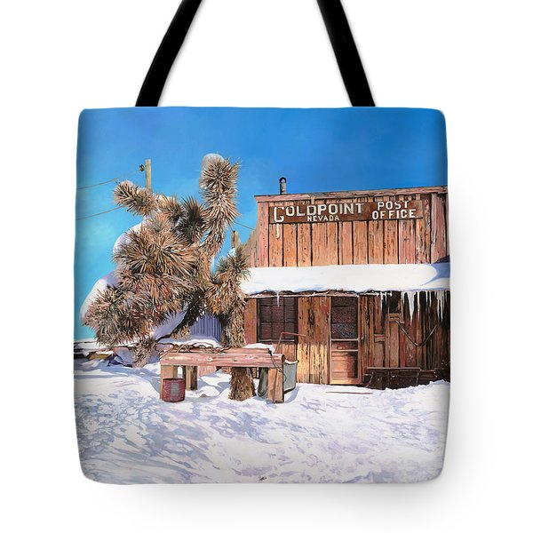 GoldPoint-Nevada Tote Bag by Guido Borelli
