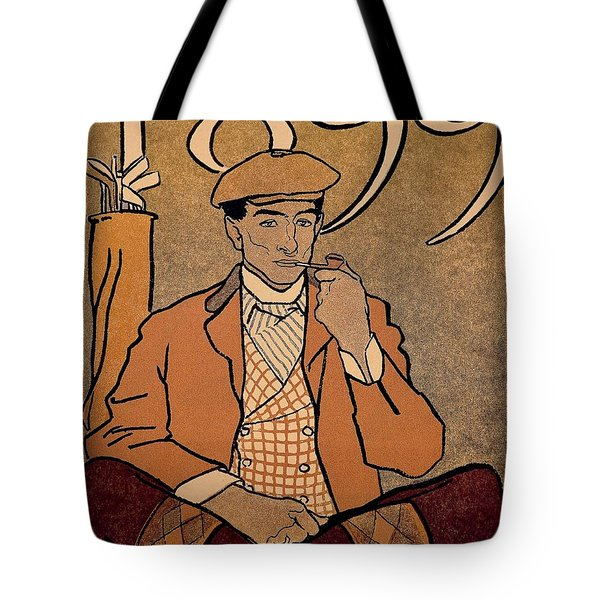 Golf Calendar Tote Bag by Edward Penfield