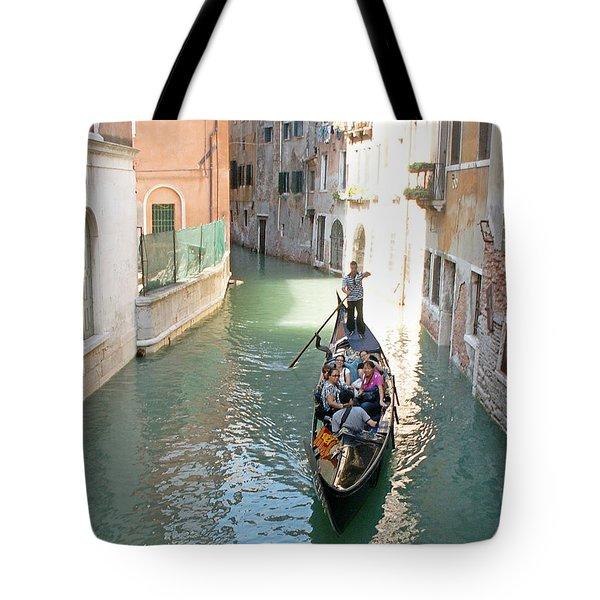 Gondola Tote Bag by Evgeny Pisarev