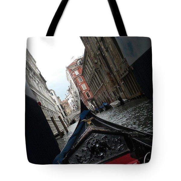 Gondola Tote Bag by Teresa Tilley