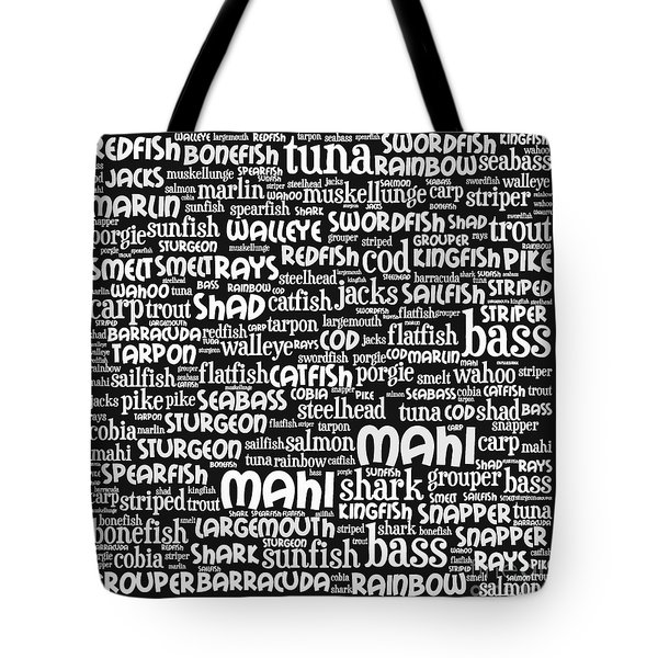 Gone Fishing 20130622bw Tote Bag by Wingsdomain Art and Photography