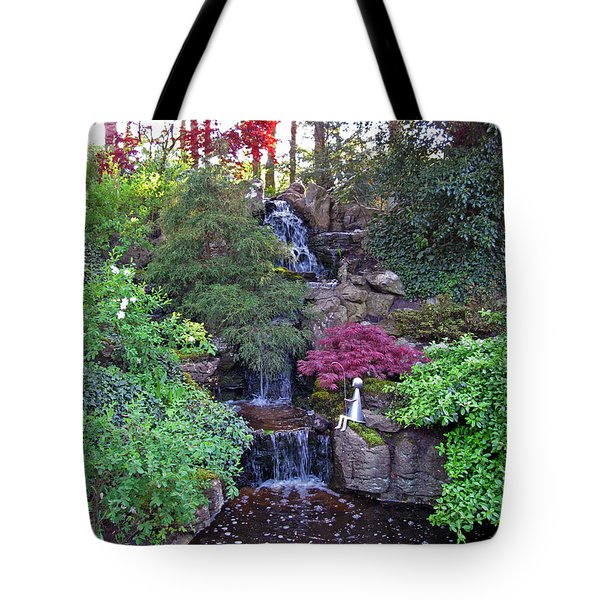 Gone Fishing. Keukenhof Gardens. Holland Tote Bag by Ausra Huntington nee Paulauskaite