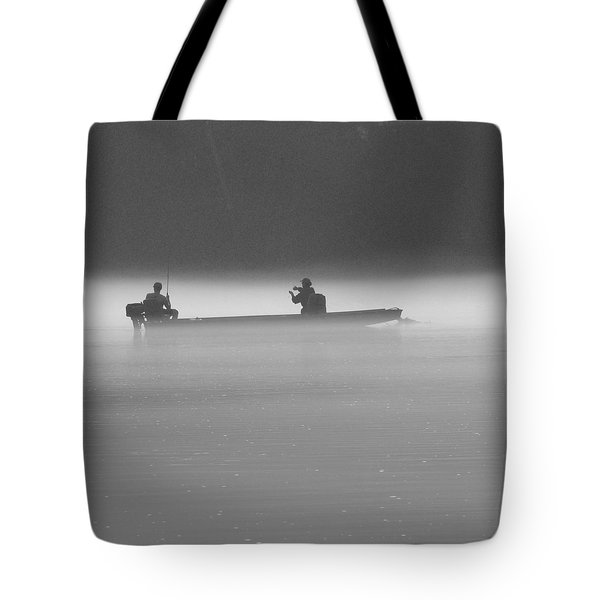 Gone Fishing Tote Bag by Mike McGlothlen