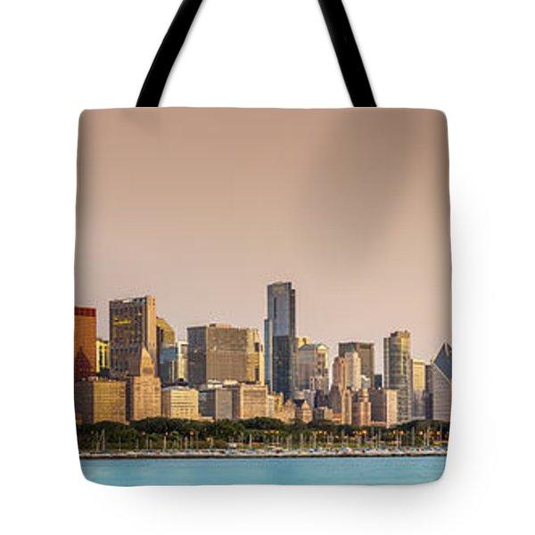 Good Morning Chicago Tote Bag by Sebastian Musial