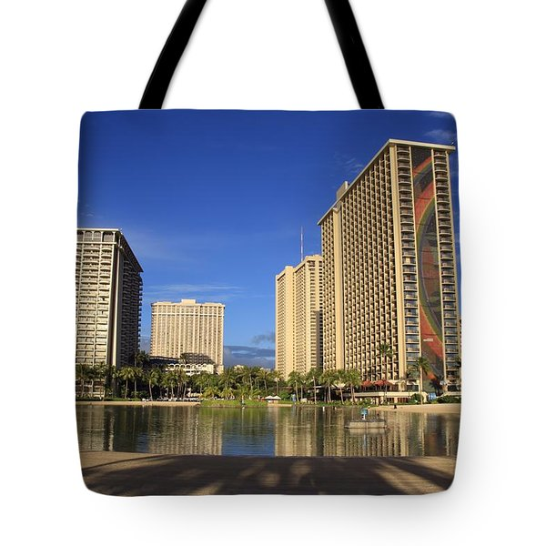 Good Morning Paradise Tote Bag by DJ Florek
