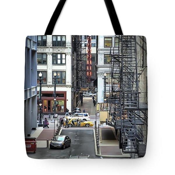 Goodman Chicago Tote Bag by Scott Norris