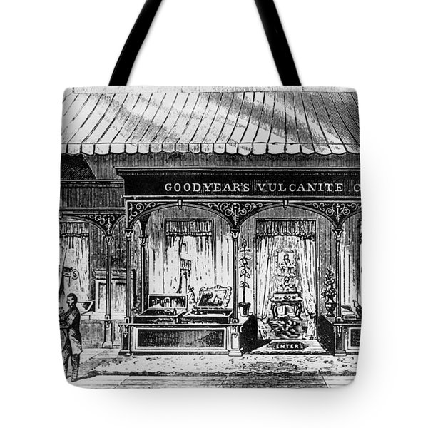 Goodyear Rubber Exhibit Tote Bag by Underwood Archives
