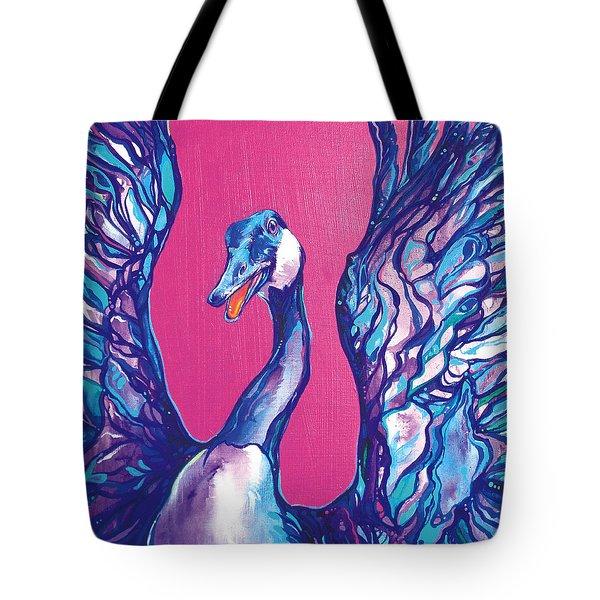 Goose Tote Bag by Derrick Higgins