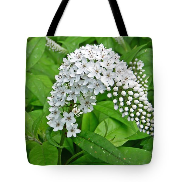 Gooseneck Flower Tote Bag by Aimee L Maher Photography and Art Visit ALMGallerydotcom
