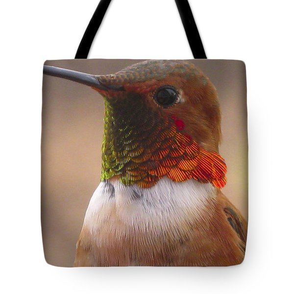 Gorgeous George Tote Bag by Diane Schuster