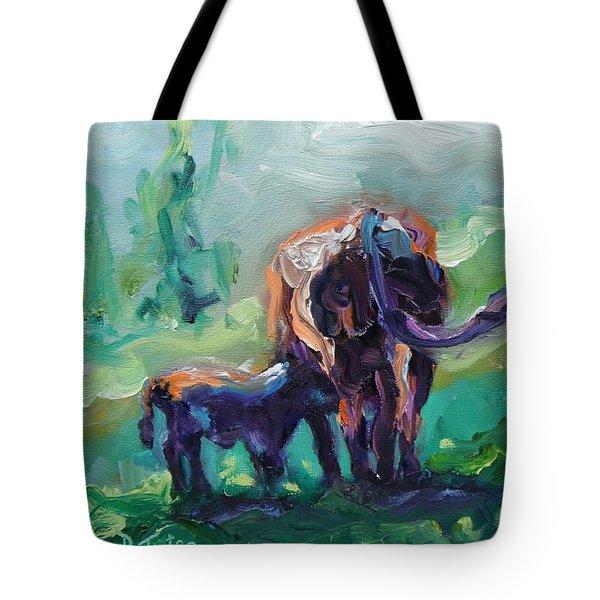 Got Milk Tote Bag by Donna Tuten