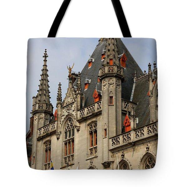 Gothic Bruges Tote Bag by Carol Groenen