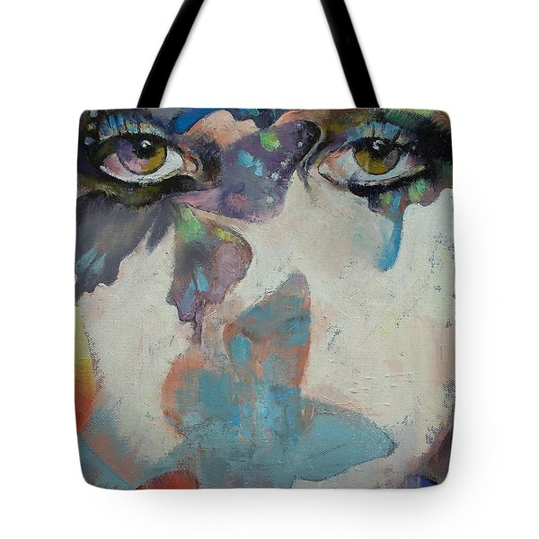 Gothic Butterflies Tote Bag by Michael Creese