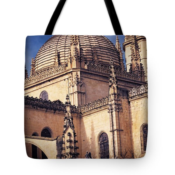 Gothic Cathedral Tote Bag by Joan Carroll