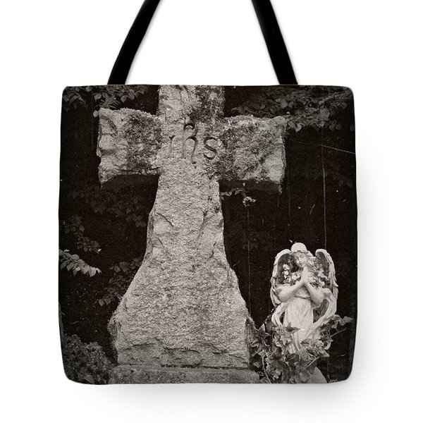 Gothic Cross Tote Bag by Chalet Roome-Rigdon