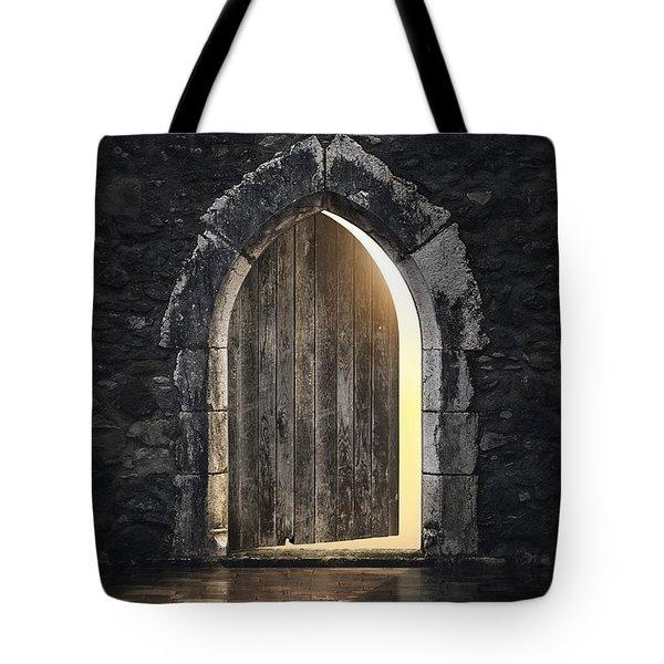 Gothic Light Tote Bag by Carlos Caetano
