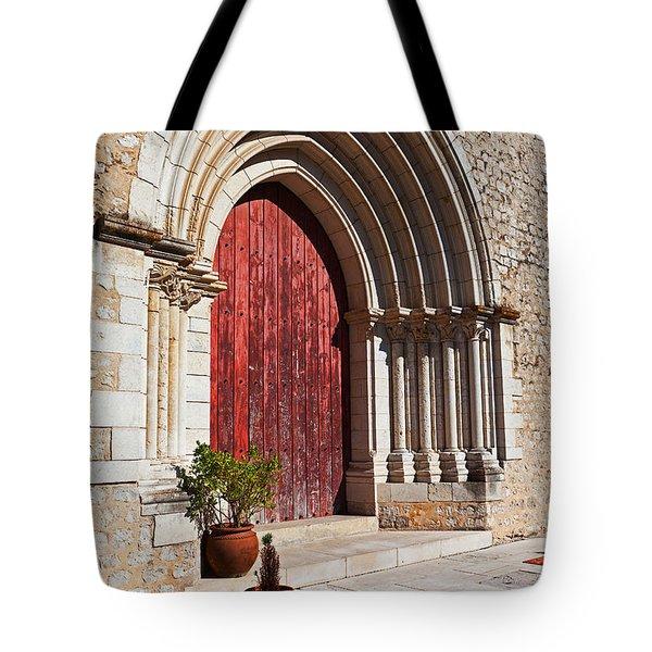 Gothic Portal Tote Bag by Jose Elias - Sofia Pereira