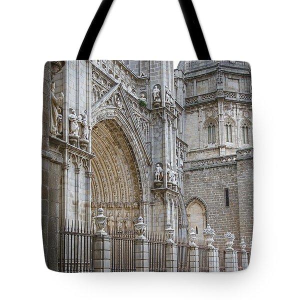 Gothic Splendor of Spain Tote Bag by Joan Carroll