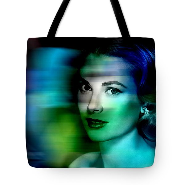 Grace Kelly Tote Bag by Marvin Blaine