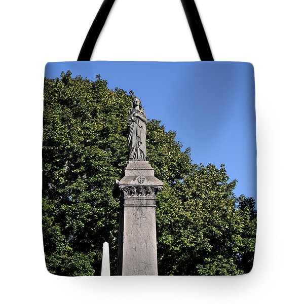 Graceland - Victorian Cemetery Chicago Tote Bag by Christine Till