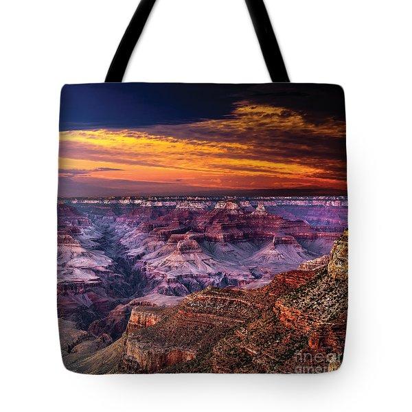 Grand Canyon  Arizona Tote Bag by Ludmila Nayvelt
