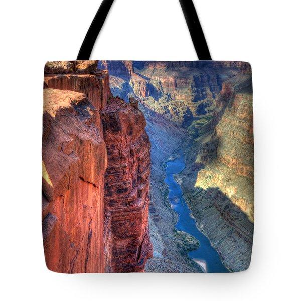 Grand Canyon Awe Inspiring Tote Bag by Bob Christopher