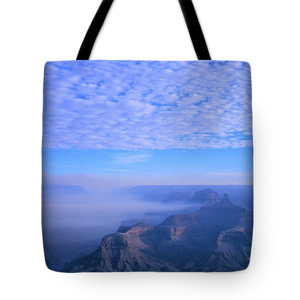 Grand Canyon Blues Tote Bag by Alex Cassels