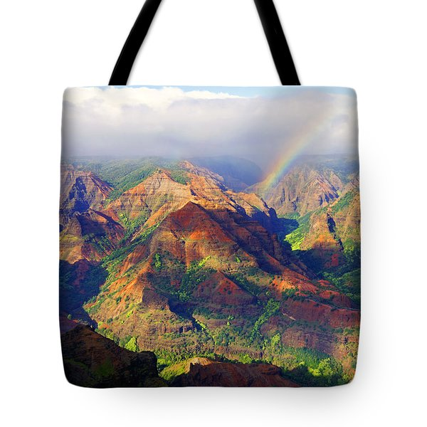 Grand Canyon Of The Pacific Tote Bag by Kevin Smith