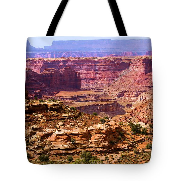 Grand Canyon Of Utah Tote Bag by Adam Jewell