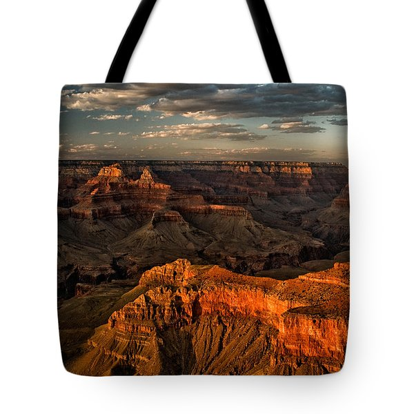 Grand Canyon Sunset Tote Bag by Cat Connor