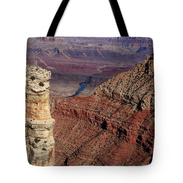 Grand Canyon View Tote Bag by Aidan Moran