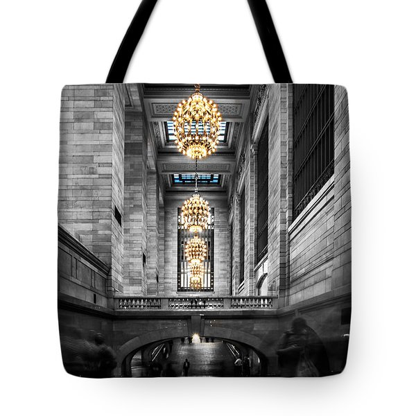 Grand Central Station IIi Ck Tote Bag by Hannes Cmarits
